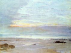 James McNeill Whistler, Crepuscule in Opal: Trouville1865