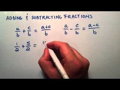 Adding and Subtracting Fractions , Intermediate Algebra , Lesson 6