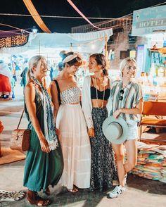 @taramilkteaのInstagram写真をチェック • いいね!32.3千件 Boho Outfits, Summer Outfits, Cute Outfits, Fashion Outfits, Casino Outfit, Casino Night, Tara Milk Tea, Friendship Photoshoot, Selfies