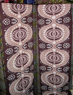EUC-marimekko-rival-tampella-vintage-curtain-panels-striking