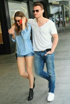 Serenay Sarikaya and Kerem Bursin