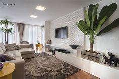 painel tv sala papel de parede - Pesquisa Google