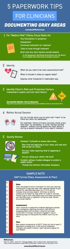 Therapy Notes 5 Tips for Clinicians