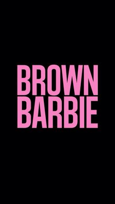 barbie, brown, and pink image