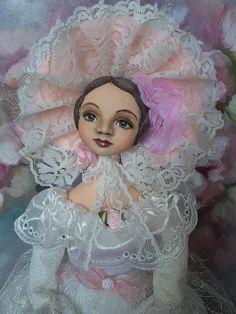 OOAK Art doll Lizzy Handmade doll OOAK doll Art doll