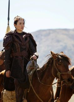 Claudia Kim in 'Marco Polo' (2014).