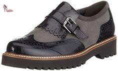 Gabor Shoes Gabor 52.667 Mocassins Femme, Gris, 37.5 EU