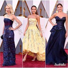 Naomi Watts, Alicia Wicander,  Sophia Vergara  - Oscar 2016