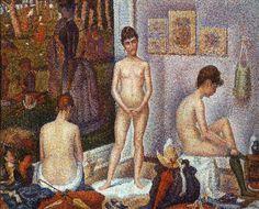 George Seurat – Modelki (neoimpresjonizm)