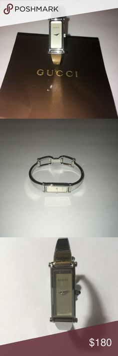 b3e58194aff Gucci 1500 Women s Wrist Watch Gucci 1500 L Swiss Made Stainless Steel  Women s Wrist Watch Pre-owned Needs new battery 12501655 Gucci Jewelry  Bracelets