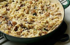 Grown-Up Tuna Noodle Casserole - Reminds me of home!