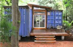 Perfect! (Eco-Friendly House Made From Two Shipping Containers)