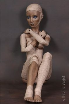 The amazing Sabine Vogel shows a different side of the doll and our human nature in Mummy - The Pursuit of Immortality.