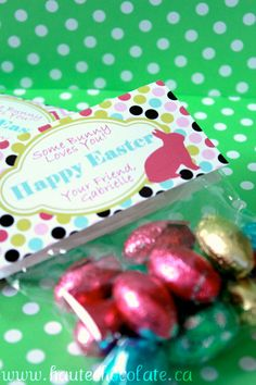 PRINTABLE  Easter Treat Bag Topper $5.00