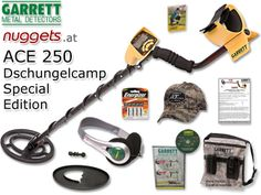 GARRETT ACE250 JungleEdition www.nuggets.at Metal Detector, Vacuums, Home Appliances, Fun, Electrical Appliances, Vacuum Cleaners, Detector De Metal, House Appliances, Lol