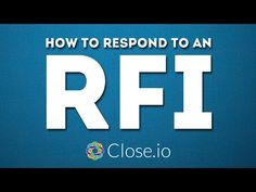 """""""How to respond to an RFI?"""" (Request For Information) - sales advice by Sales Courses, Sales Motivation, Competitor Analysis, Startups, Entrepreneurship, Hustle, Success, Advice, Business"""