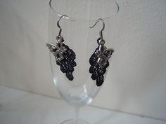 Butterfly lace ear-rings by Carolyn's Wardrobe.