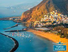 Descubre Tenerife 8 días hotel 4* Todo Incluido + vuelo: 1) Abril, mayo, junio, sept, oct 455€ 2) Julio 589€ 3) Agosto 739€