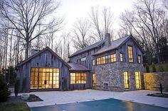 Connecticut House in the Woods Jendretzki-Tittman   JENDRETZKI LLC   Archinect