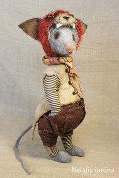 Rati de Koschak By Natali Iunina - Rat in costume