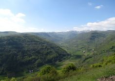 The Brezons valley in Cantal Peaceful Life, Natural Wonders, Where To Go, Countryside, France, River, Explore, Mountains, Places