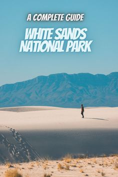Here is a guide to White Sands National Park. national parks USA   USA national parks   national park camping   state parks USA   #WhiteSandsNationalPark #USAnationalparks #nationalparks #nationalparkcamping Best National Parks Usa, National Park Camping, New Mexico, State Parks, Vacation, Usa Usa, Sands, Photography, Travel