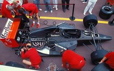Pure Engineering Porn    Mclaren MP4/6 at 1991 Monaco Grand Prix