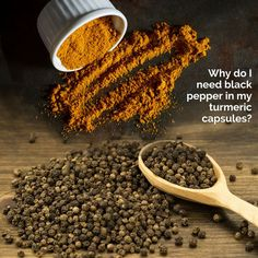 Want to know why we have black pepper in our turmeric capsules and the health be
