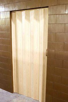 Add accordion doors or standard doors to your walls & Panelfold Criterion vinyl folding doors | Basement | Pinterest ...