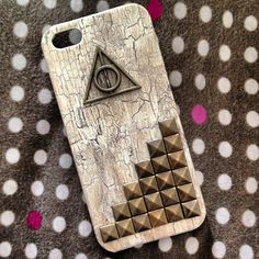 Harry Potter deathly hallows phone case from etsy
