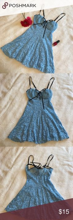 "✨EUC✨ Baby Blue Corset Teddy ✨EUC✨ Baby Blue Corset Teddy Size Medium. Armpit to armpit = 14.5"" Length underarm to hem = 21. Adjustable Straps Padded Cups Like New ✅Offers Welcome w/Offer Button Trade PP 30%OffBundle Ships1Day. Intimates & Sleepwear"
