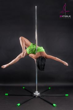 Portable Pole Dance Pole by RPole® - Pole fitness anywhere with fast set up Really really need/want a pole like this that I can set up anywhere and that is light and easy to store. DX