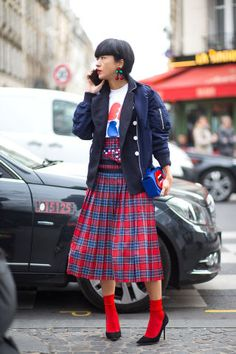 The top 10 trends spotted on the Fashion Month street style scene.