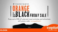 Up to OFF your favorite attraction tickets via Klook with promo code ORANGEBLACK Attraction Tickets, Travel Activities, Black Friday, Coding, Road Trip Activities, Programming