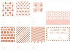 Laura Birney Events Blog » Wedding & Event Planner » Atlanta & North Georgia: Freebies: Holiday Gift Tag Printables