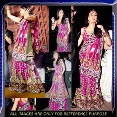 Kareena Kapoor Wedding bollywood Lehenga Buy Sarees