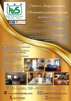 CLIENTE: Hotel Villa del Sorriso  LAVORO: Grafica e Stampa Volantino A5 fronte