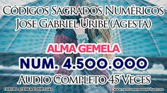 ALMA GEMELA 4,500,000 CODIGOS NUMERICOS SAGRADOS JOSE GABRIEL URIBE (AGE...