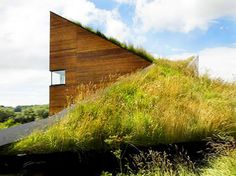 Prefab and Green - not only is it a roof, it can also serve as a playground or sundeck.