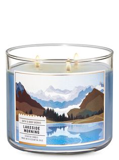 Lakeside Morning 3-Wick Candle | Bath & Body Works