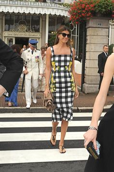 Bianca Brandolini D'Adda in Dolce&Gabbana #DGwomen