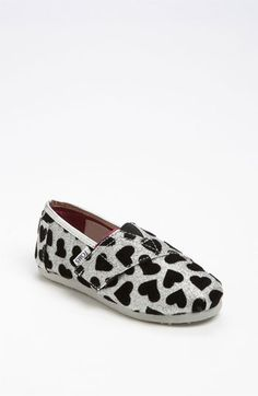 TOMS 'Hearts' Slip-On (Baby, Walker  Toddler)   Nordstrom...baby girl needs some of these :)