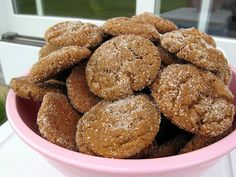 My family's GINGERSNAPS--probably the most requested recipe from my mom, stretching back to her grandma!