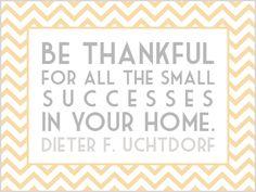 small successes