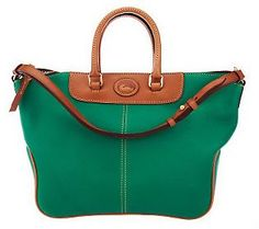 Nothing screams fab like a great @Dooney & Bourke bag! We're obsessed with their Dillen Leather Convertible Hobo in #Emerald!