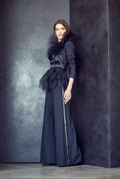 Alexis Mabille | Fall/Winter 2015 Couture Collection | Modeled by Lis van Velthoven | July 8, 2015, Paris | Style.com