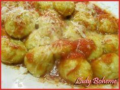 Hiperica Lady Boheme: Gnudi (naked ravioli) with ricotta and asparagus
