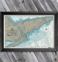 The work of cartographer extraordinaire Anthony Petrie, these movie-inspired maps are set to be shown off at the artist's Gallery 1988 exhibit, Charts. Amity Jaws, Shark Bedroom, Jaws Movie, Shark Bait, Island Map, Creative Artwork, Shark Week, Indiana Jones, Map Art