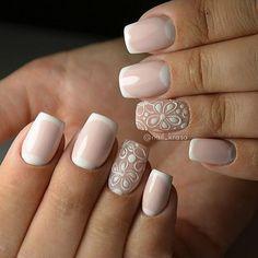 Beautiful Nail Art Ideas You Have To Try - Nail Stylish Nail Polish Designs, Nail Art Designs, Nail Manicure, Toe Nails, Art Simple, Bride Nails, Metallic Nails, Nail Patterns, Fabulous Nails