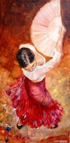 Alejandra por Guajira II by Isabelle Jacq Gamboena Dance Paintings, Cool Paintings, Spanish Dance, Dancing Drawings, Flamenco Dancers, Amazing Drawings, Dance Art, Oeuvre D'art, Watercolor Illustration